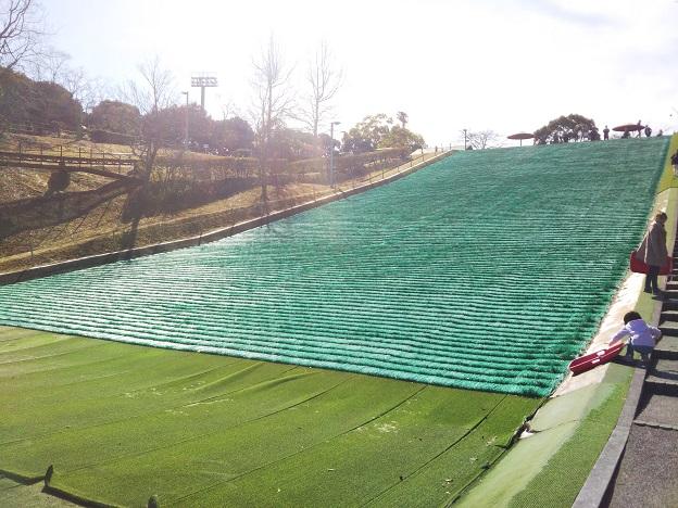 桜井総合公園 芝滑り1