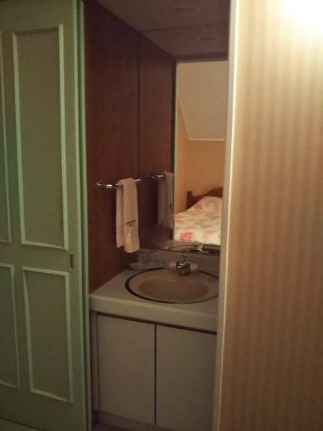 フォレストヴィラ ベッドルーム洗面