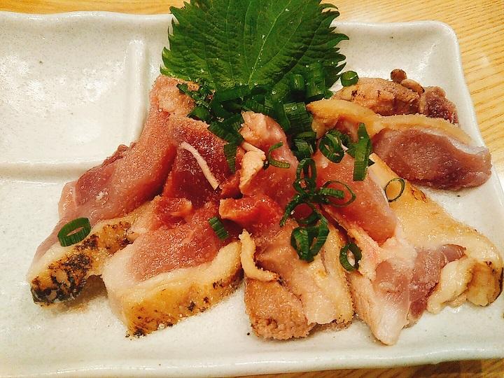 囲味庵 鶏のタタキ