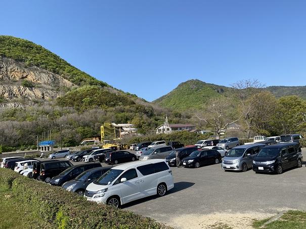 有明ふれあい海岸駐車場
