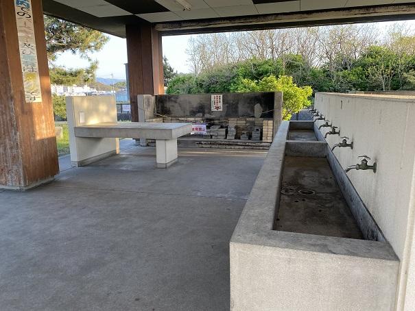 水道テーブル有明ファミリーキャンプ場