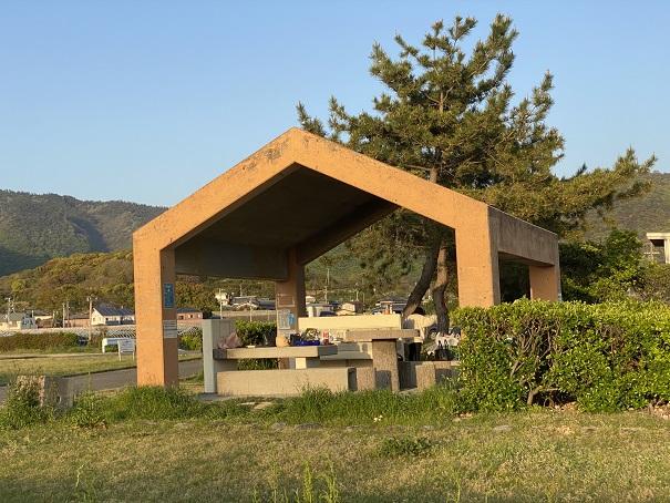 休憩所有明ファミリーキャンプ場
