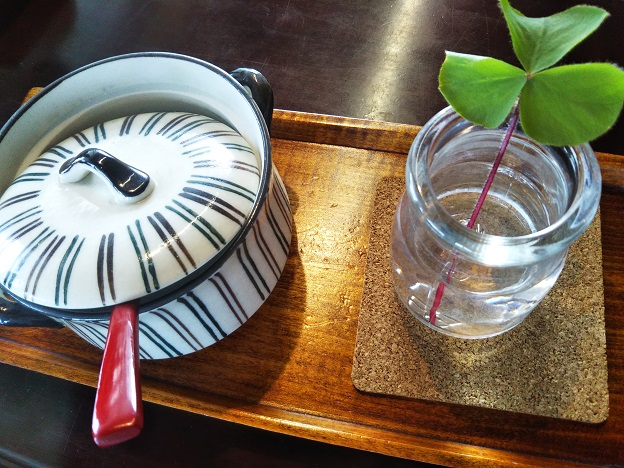 cafe KIARA テーブルの上
