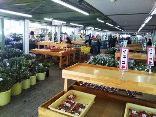 岡山市サウスビレッジ ローサイドマーケット 野菜