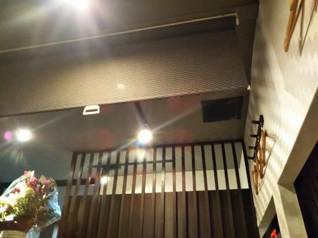 囲味庵 ロールカーテン1