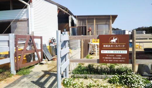 有明浜ホースパーク 気軽に乗馬体験が出来る 観音寺市