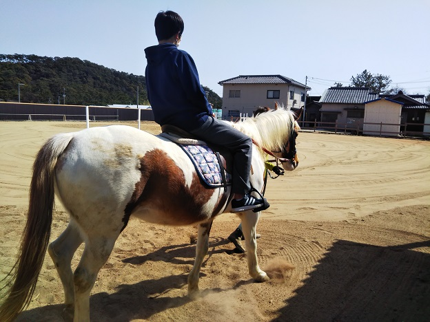 有明浜ホースパーク 乗馬体験2