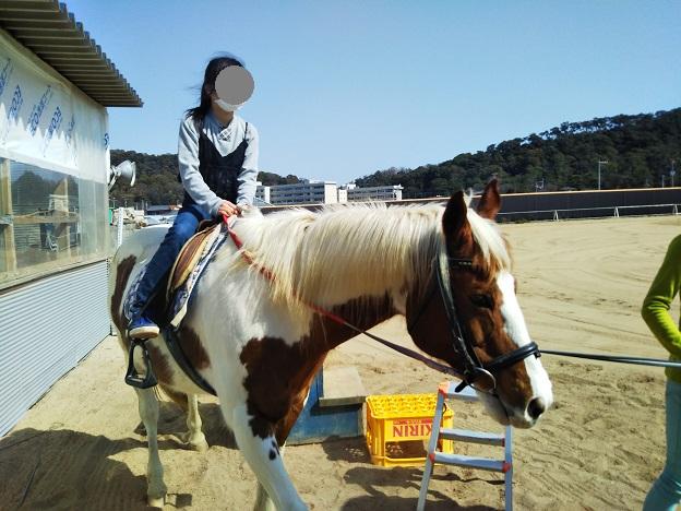 有明浜ホースパーク 乗馬体験3