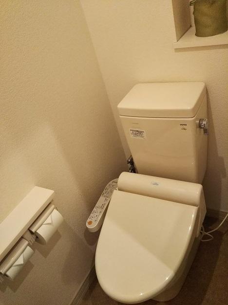 ファミリーロッジ旅籠屋 宮島SA店 トイレ