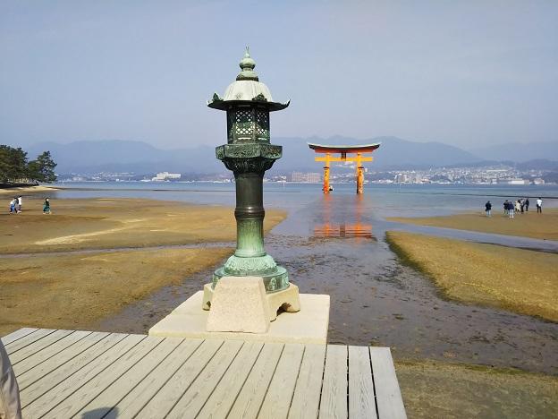 厳島神社 灯篭