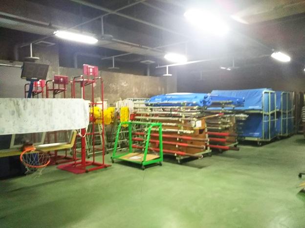 善通寺体育館 倉庫