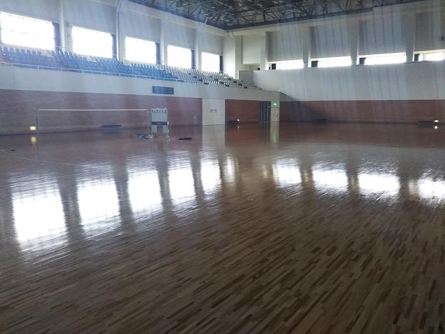 善通寺体育館 メインアリーナ