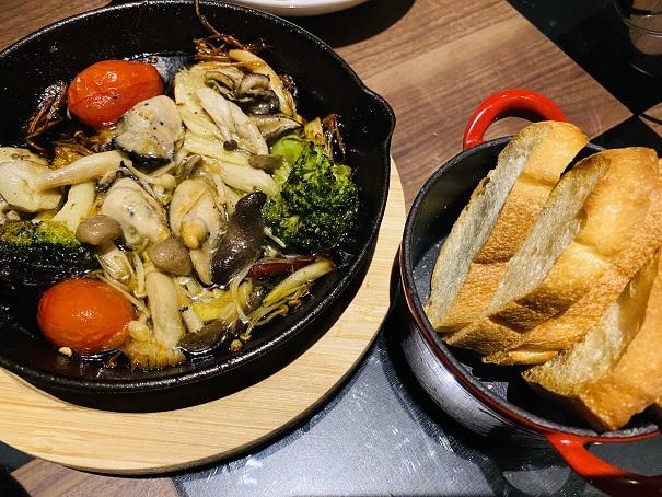 FRIFREDIP 牡蠣のアヒージョ