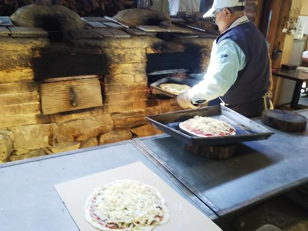 石窯工房みどり ピザ焼き