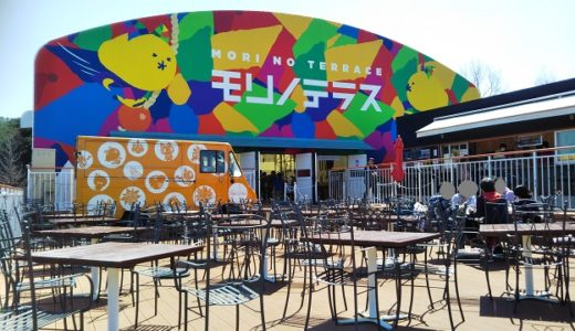 モリノテラス 淡路島ニジゲンノモリのなかのレストラン
