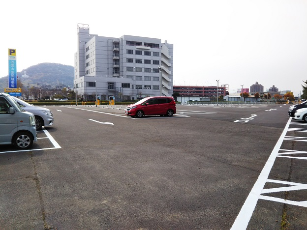 四国水族館 駐車場2