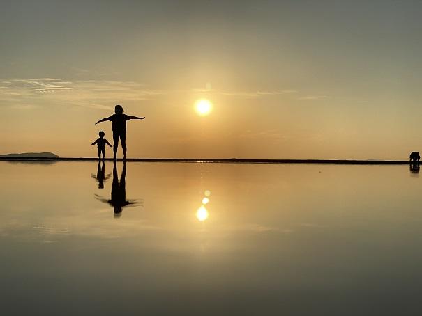 チョコプラ tt兄弟風の写真父母ヶ浜