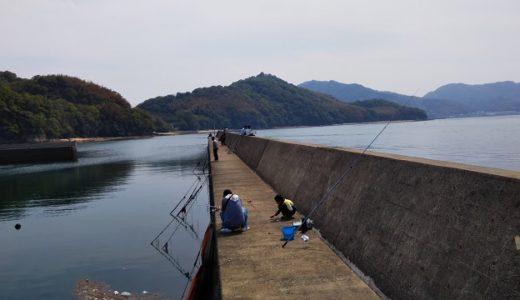 ゴマジリ 高谷漁港(胡麻尻)で五目釣り 青ゴカイで投げや落としの釣果は 三豊市