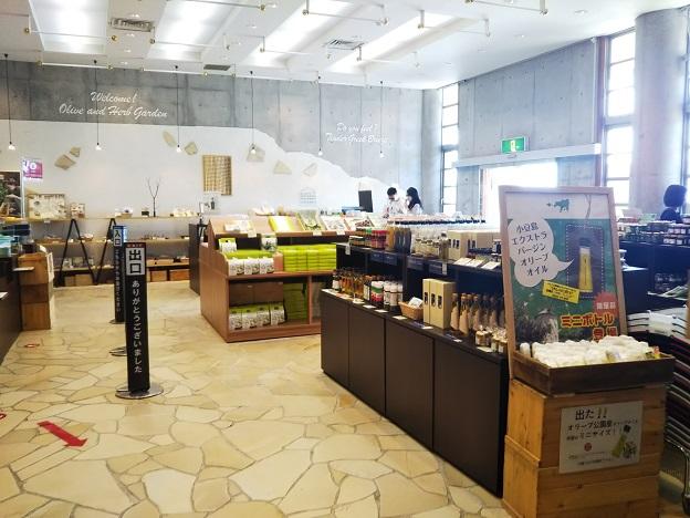 オリーブ記念館 売店