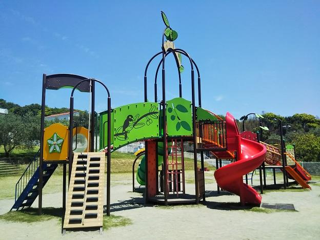 小豆島オリーブ公園 遊具広場1