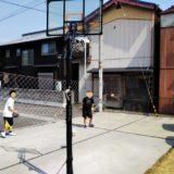 移動式防球ネットやバックネットを自作で庭に設置