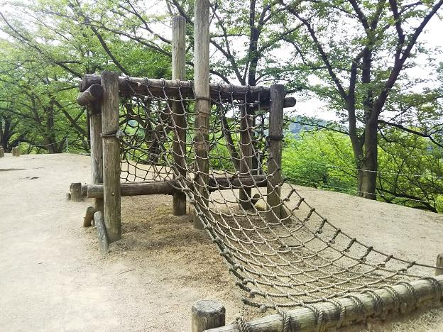 種松山公園西園地 冒険の森 ネットボンボン