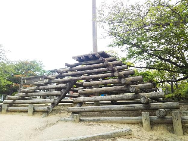 種松山公園西園地 アスレチック