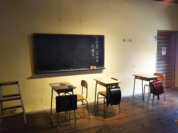児島学生服資料館 試着撮影
