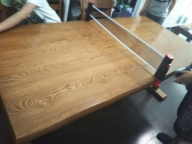 卓球台の完成