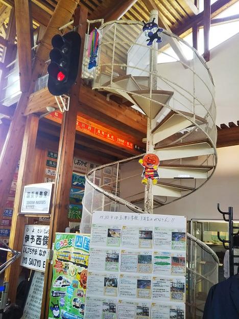 四国鉄道文化館北館 階段
