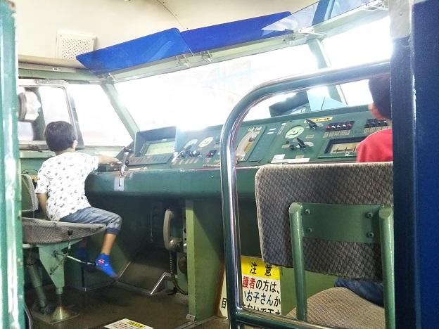 0系新幹線 運転席