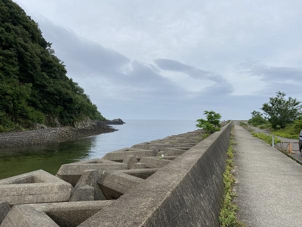 室本港浅瀬