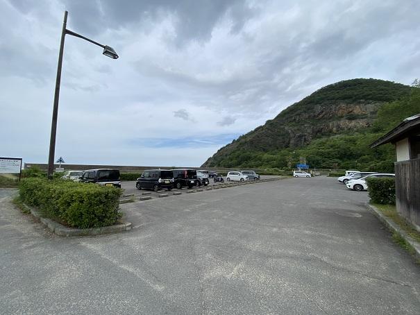 有明浜ふれあい海岸駐車場