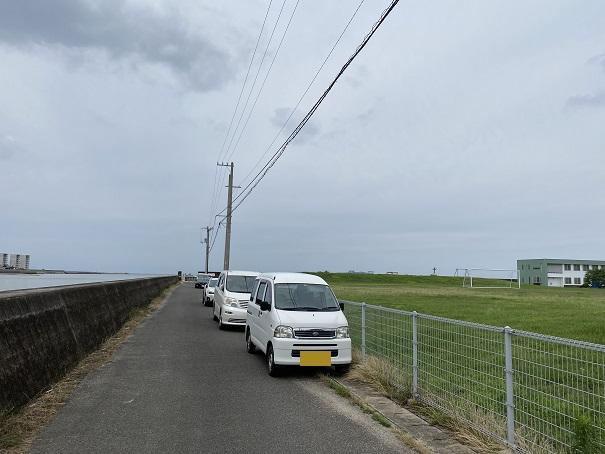 財田川河口駐車場