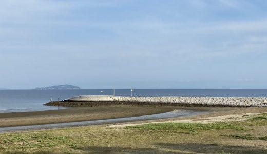 一の宮海岸や海水浴場 公園でキスの投げ釣り 引き釣り 観音寺市
