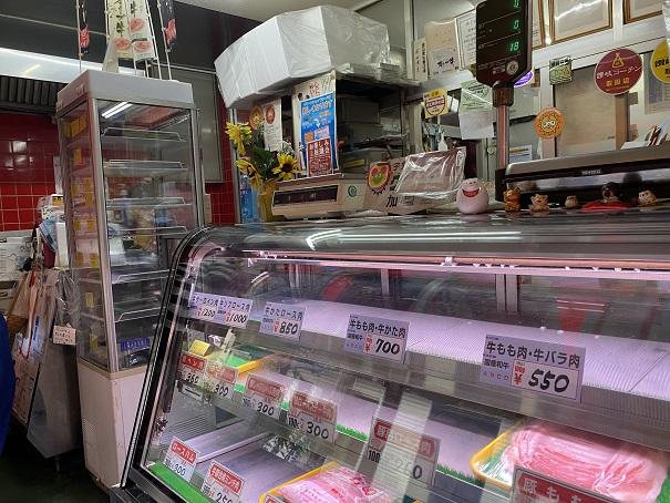 前田精肉店 店内