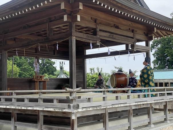 神楽粟井神社あじさい祭
