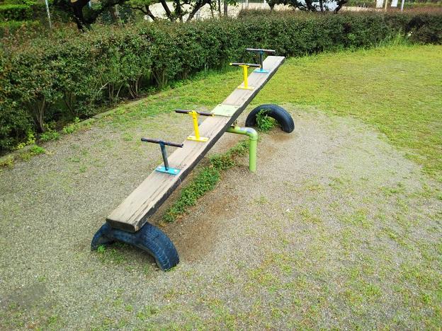 堀江公園シーソー