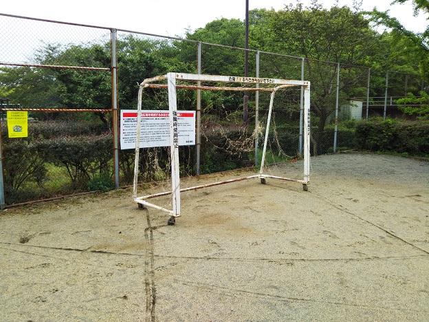 堀江公園サッカーゴール