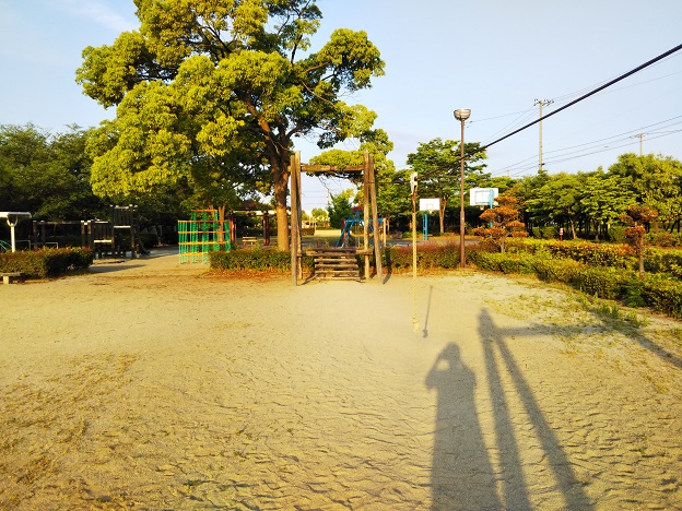 堀江公園ターザンロープ