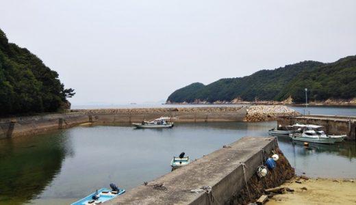 仁老浜漁港や海水浴場の砂浜からキスなど投げの五目釣り 三豊市