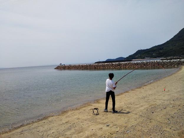 大浜でキスなど投げ釣り
