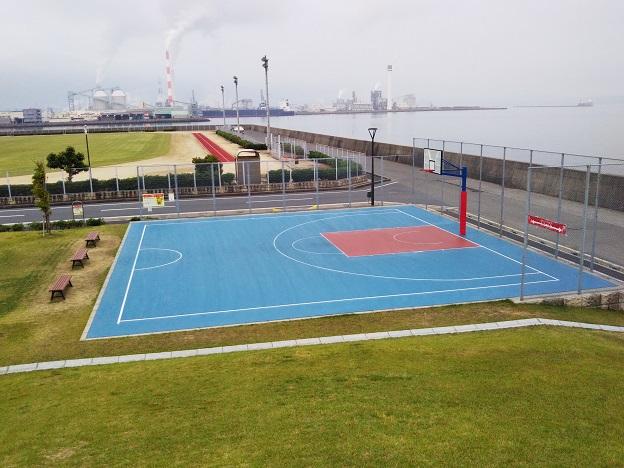 浜公園こども広場バスケットコート