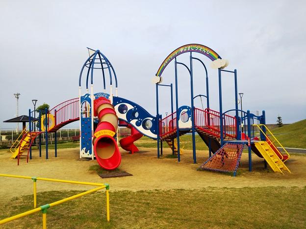 浜公園こども広場大型遊具