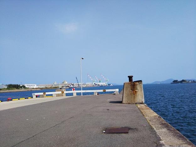 丸亀港の児島競艇場行き船乗り場跡地