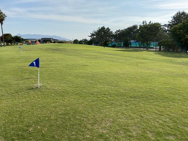 一の宮公園グランドゴルフ
