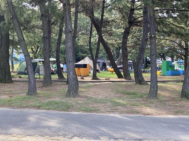 一の宮公園キャンプ場