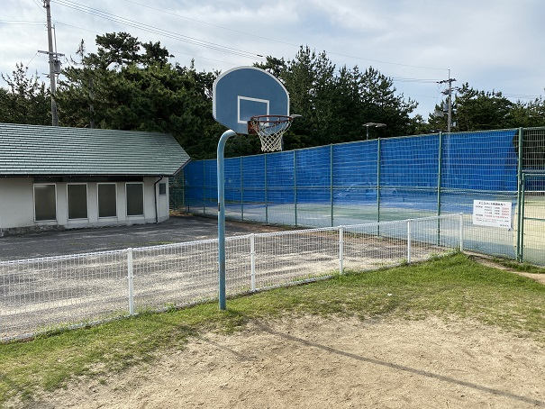 一の宮公園バスケットゴール