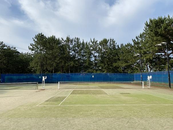 一の宮公園テニスコート