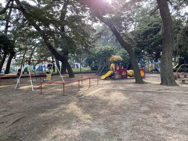 一の宮公園遊具
